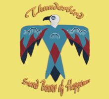 Thunderbird ~ Sacred Bearer of Happiness ~ T-shirt & sticker by Barbara Applegate