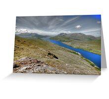Killary Fjord View Greeting Card