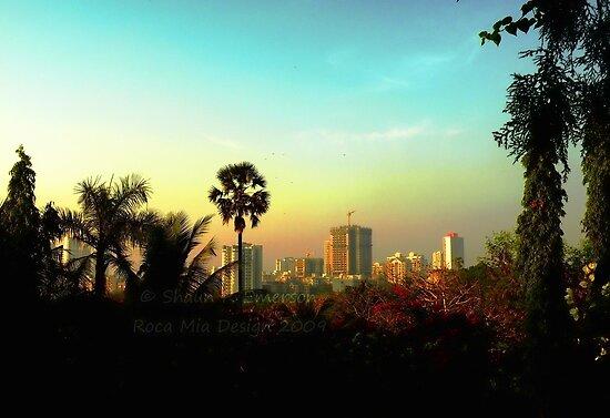 Malad Skyline (Mumbai, India) by rocamiadesign