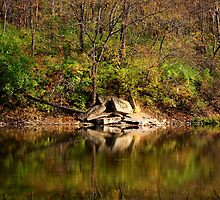 Fall 3 - Little Miami River by Tony Wilder