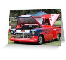 1957 Chevy Pickup - Classic Cruiser Greeting Card