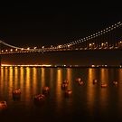 SF Bay Bridge by Leasha Hooker