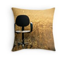 out of office II Throw Pillow