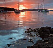Kettering Sunrise, Tasmania by Chris Cobern