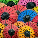 Umbrella Rainbow by Glen Allison