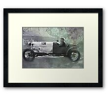 1921 Amilcar - Fully worked Framed Print
