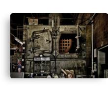 Boiler Room Canvas Print