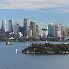 Sydney sky line from Taronga Zoo by Marius Brecher