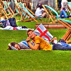 Flying The Flag This Summer (St James's park, London) by JLaverty