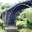 Iron Bridge at Ironbridge, Shropshire UK by GeorgeOne