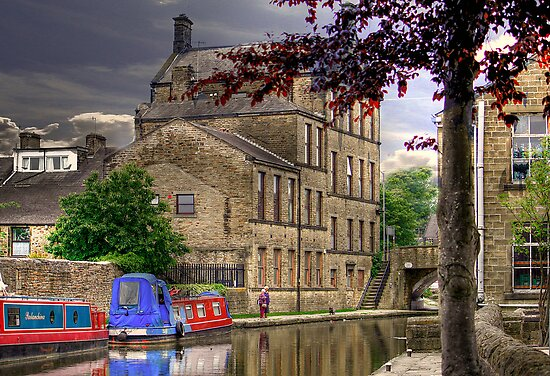 Skipton Yorkshire  by Irene  Burdell