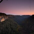 Fitzroy Fall Lookout NSW by MiImages
