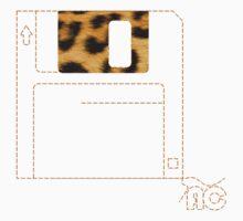 Leopard Floppy disk by alzacuellos
