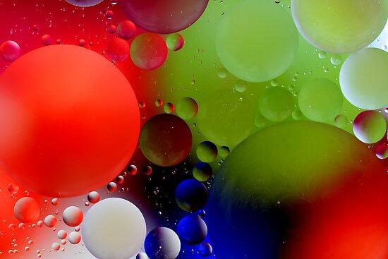 Oily waters #1 by Kim Hansen