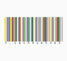 Pi Barcode by Neil Messenger