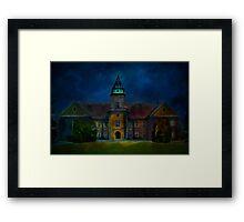 Dzikow Castle Framed Print