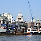 On the River Thames by Graham Ettridge