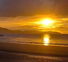 Sunset at Carramore, Louisburgh, Co Mayo by Dolores Rogers