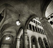 Post Office (2) in Venice by Laurent Hunziker