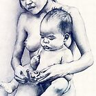 Mother and Child by Margaret Harris