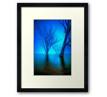 Foggy Dawn at Lake Eildon #3 Framed Print