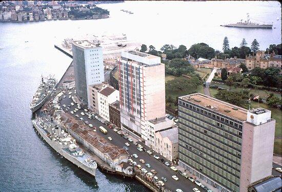 Circular Quay (East) Sydney, Australia, 1963 by Adrian Paul