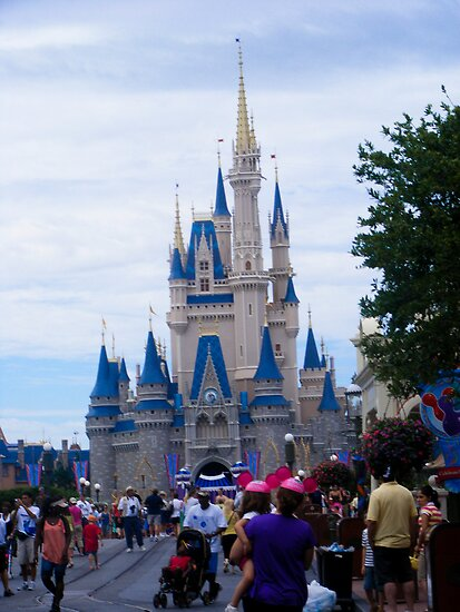 Walt Disney world by Krystal Boelte