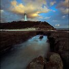 Norah head lighthouse by Adam  Smith
