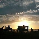 Watching the Sun Set by Roz McQuillan