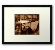 Those Were The Days............ Framed Print