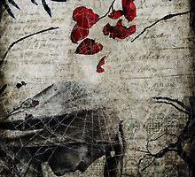 Rain of Rose Petals by Sybille Sterk