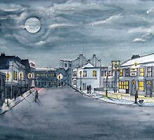 """A Night On the Town"" - Burnham-on-Sea, Somerset by Timothy Smith"