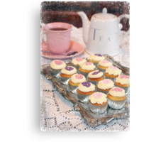Tea and Cakes Canvas Print