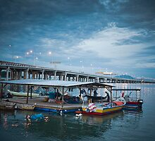 Bridge | Blue Sky | Sea by seehour