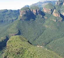 Blyde River Canyon The Three Rondavels by 3phoria