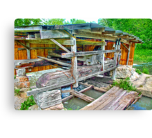 Old Mill Generator Canvas Print