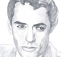 Gregory Peck by Bobby Dar