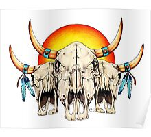 Three Ancient Spirit Guides Poster