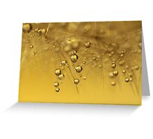 The Midas Touch Greeting Card