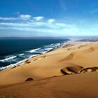 Guadalupe Dunes, looking north, winter... by Allan  Erickson