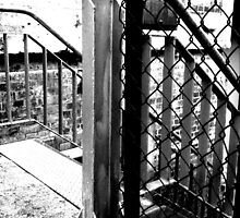 Stairs & Fence by technokitty