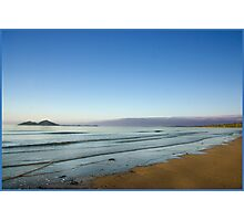 View of Dunk Island from Mission Beach Photographic Print