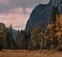 Yosemite during Storm by CarenS