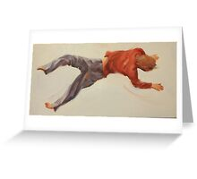 Trampoline Boy Part 2 Greeting Card