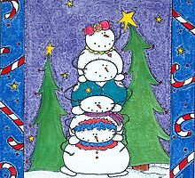 Snowman Helpers by Cathy Moody