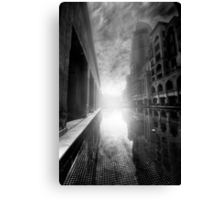 Sunrise In The City - Dubai Canvas Print