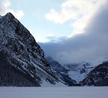 Ice Locked Lake Louise by Alyce Taylor