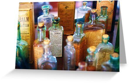 Pharmacist - Liniment & Balms by Mike  Savad