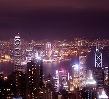 The Peak by Night II by samby