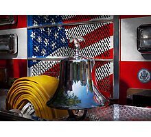 Fireman - Red Hot  Photographic Print